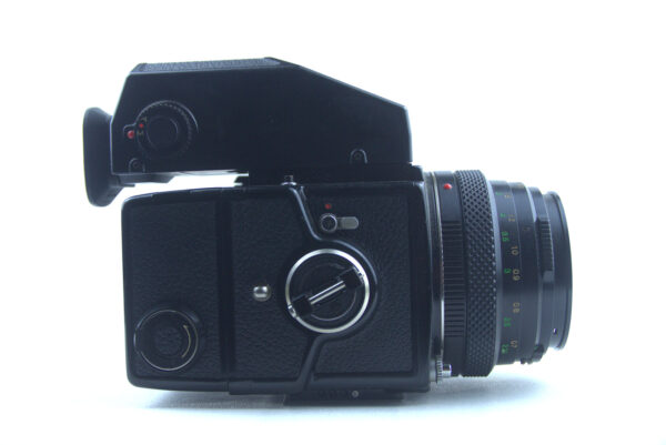 Zenza Bronica ETRC with AE-II view finder