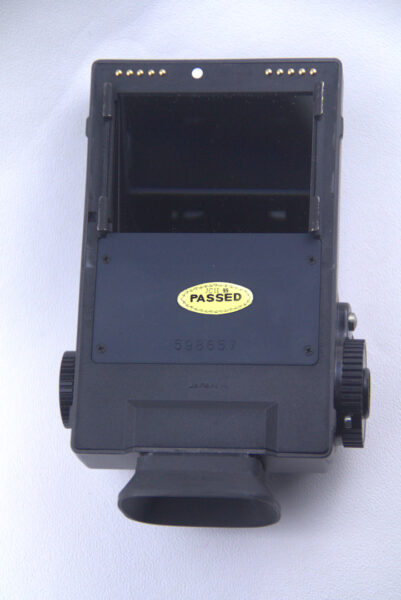 AE-II Prism view finder with electronic lightmeter