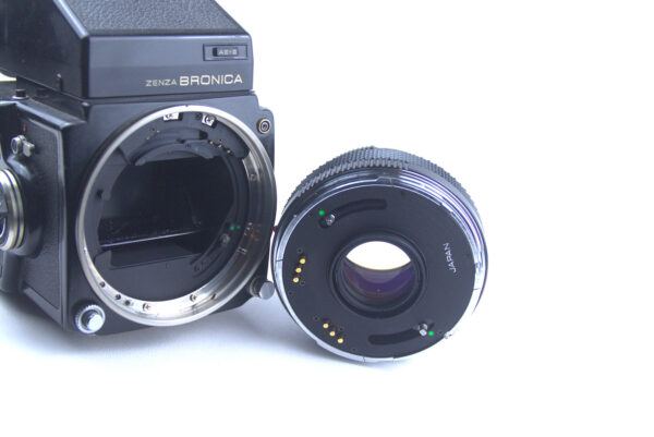 Zenza Bronica ETRC with Zenzanon MC 75mm Seiko Leaf Shutter